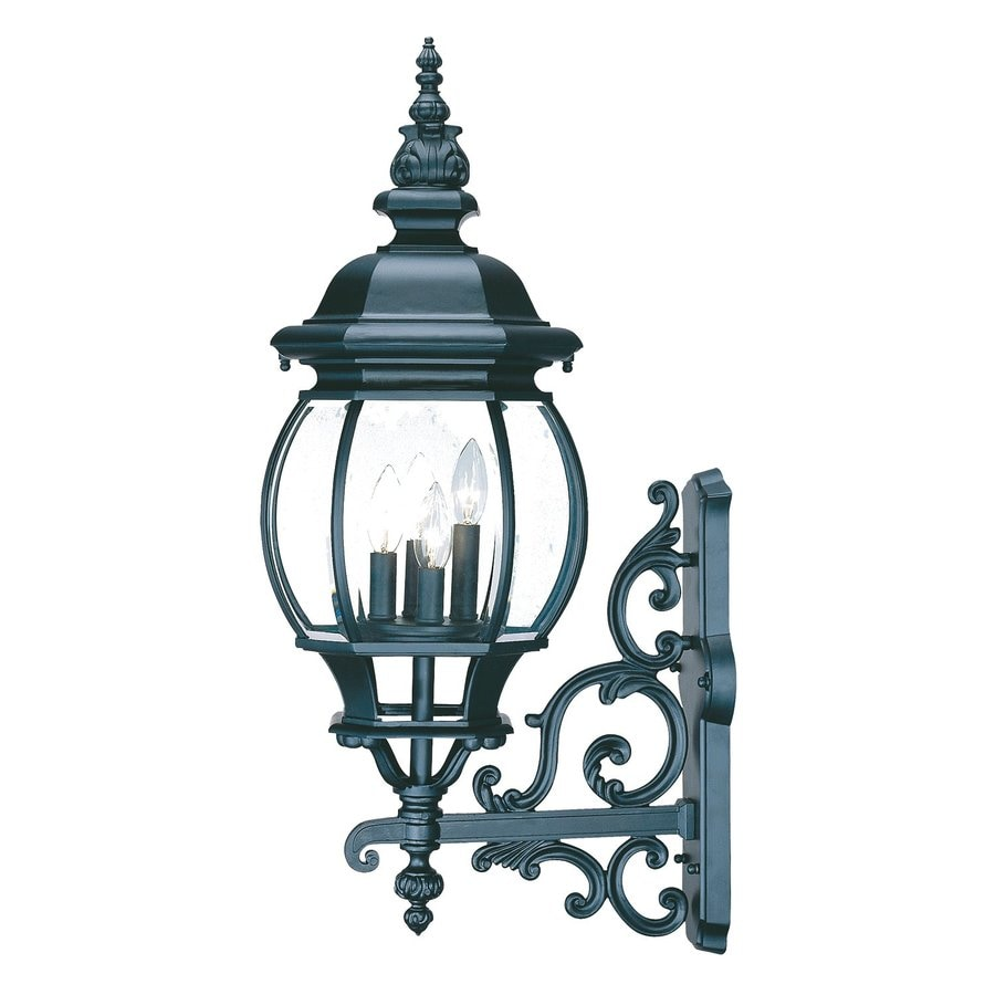 Acclaim Lighting Chateau 30.5-in H Matte Black Outdoor Wall Light