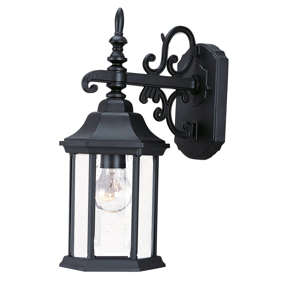 Acclaim Lighting Madison 15-in H Matte Black Outdoor Wall Light