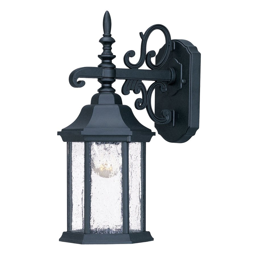 Acclaim Lighting Madison 16.75-in H Matte Black Outdoor Wall Light