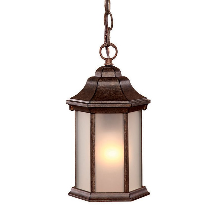 Acclaim Lighting Madison 12-in Black Coral Outdoor Pendant Light