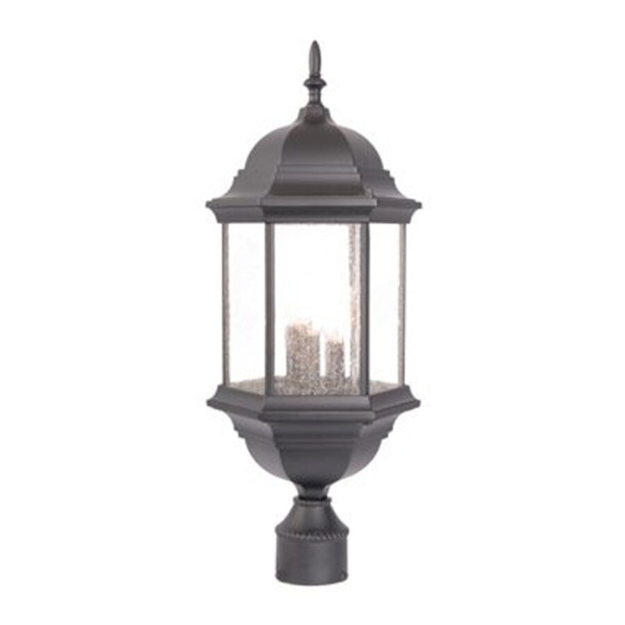 Acclaim Lighting Madison 21.5-in H Matte Black Post Light