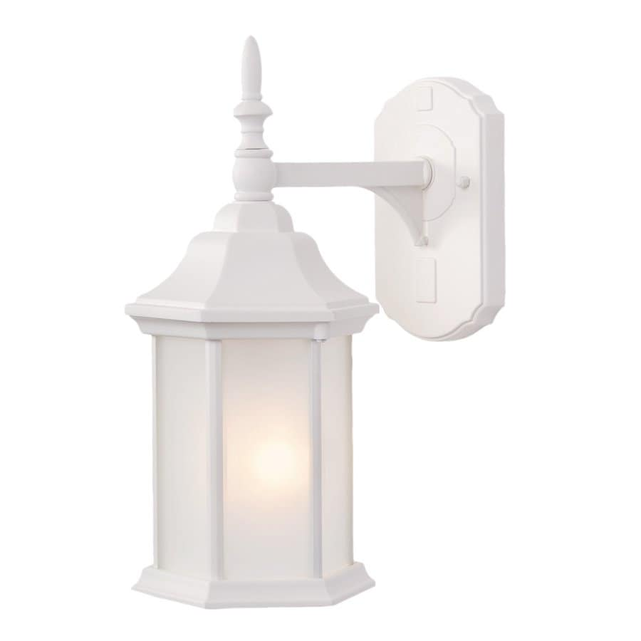 Acclaim Lighting Craftsman 15-in H Textured White Outdoor Wall Light