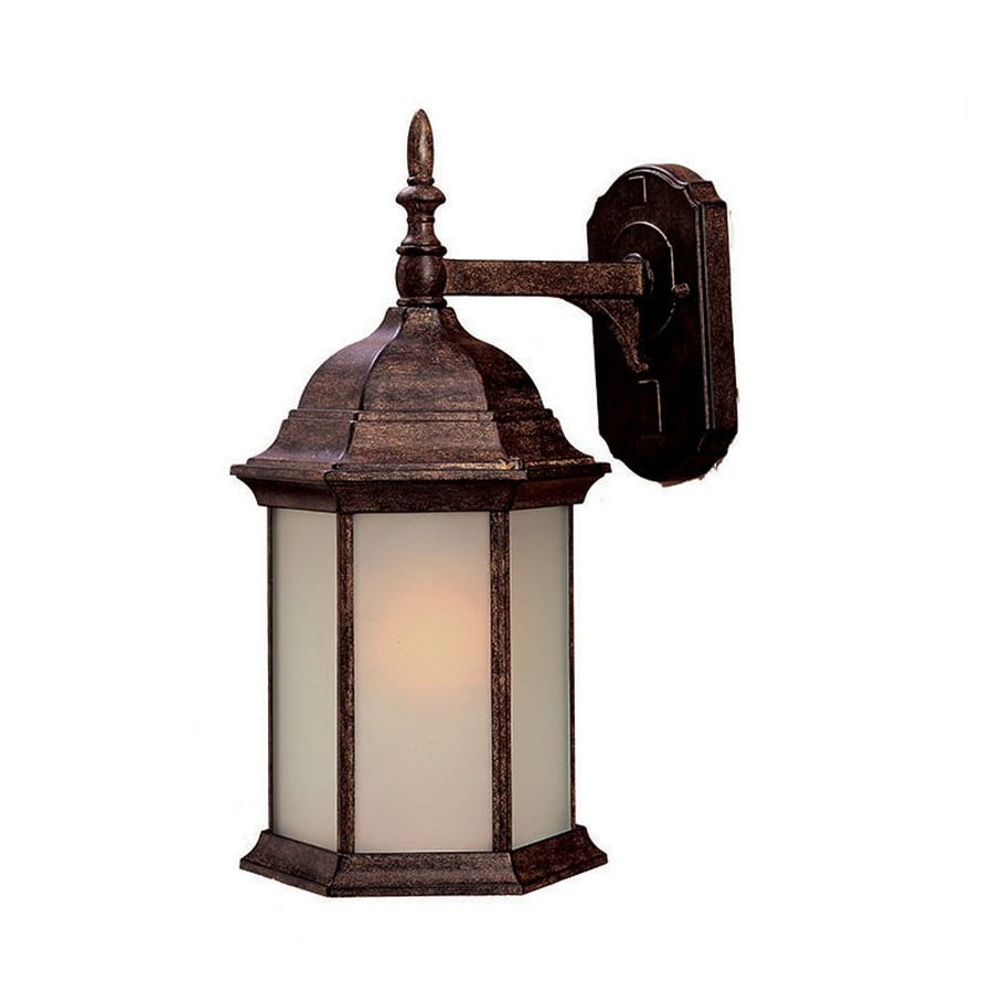 Acclaim Lighting Craftsman 16.5-in H Black Coral Outdoor Wall Light
