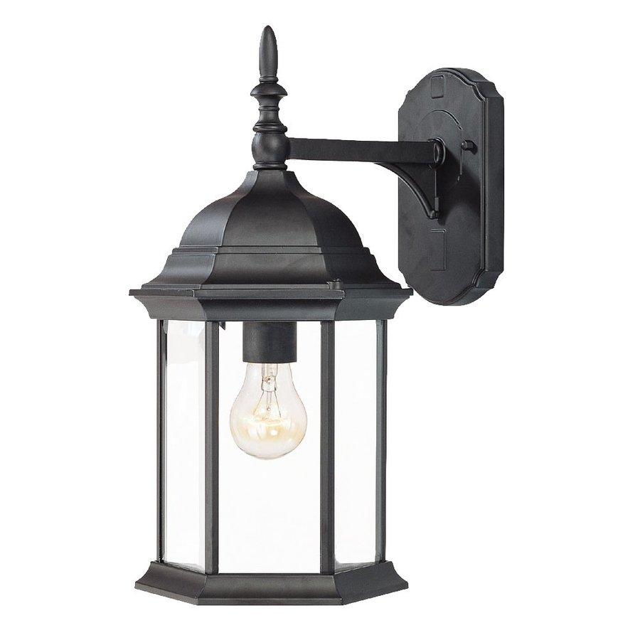 Acclaim Lighting Craftsman 16.5-in H Matte Black Outdoor Wall Light