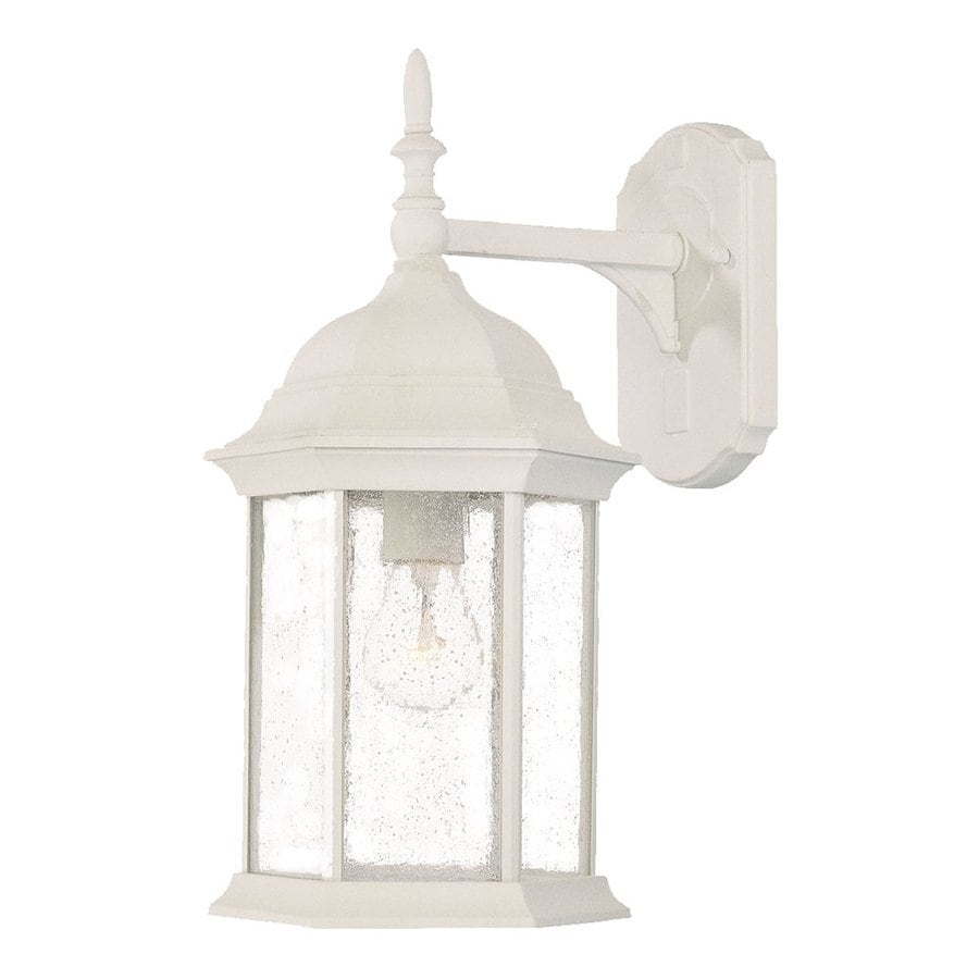 Acclaim Lighting Craftsman 16.5-in H Textured White Outdoor Wall Light