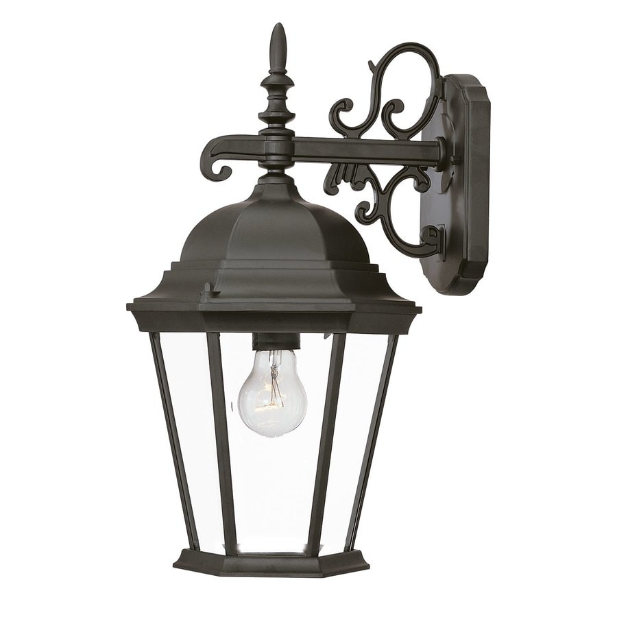 Acclaim Lighting Richmond 17.5-in H Matte Black Outdoor Wall Light