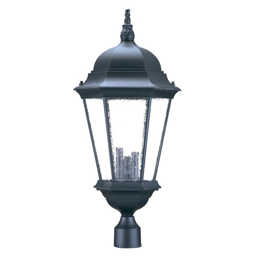 Shop Acclaim Lighting Richmond 27-in H Matte Black Post
