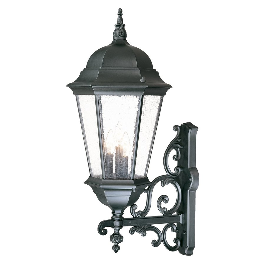 Acclaim Lighting Richmond 29.25-in H Matte Black Outdoor Wall Light