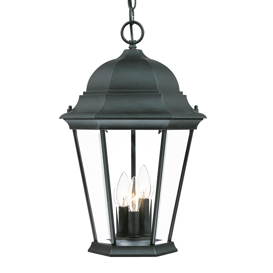 Acclaim Lighting Richmond 18.5-in Matte Black Outdoor Pendant Light