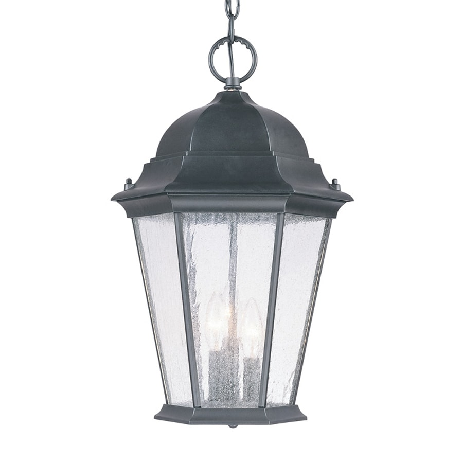 Acclaim Lighting Richmond 18.5-in Matte Black Outdoor Pendant Light