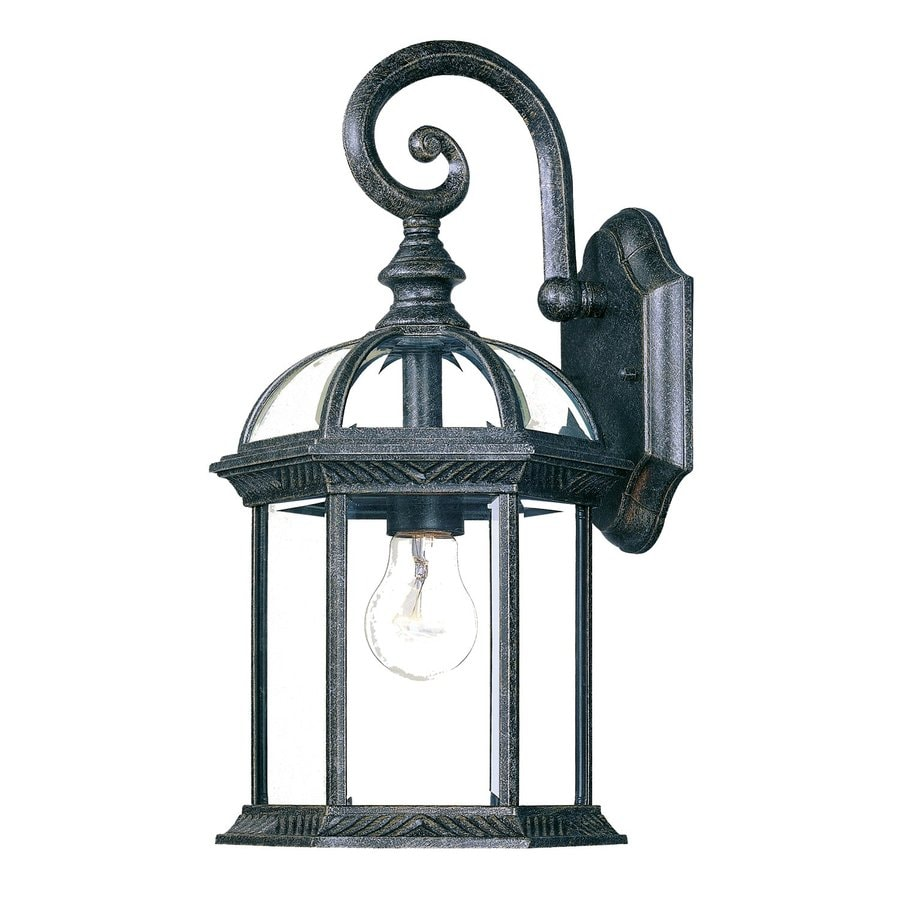Shop Acclaim Lighting Dover 16 In H Stone Outdoor Wall Light At