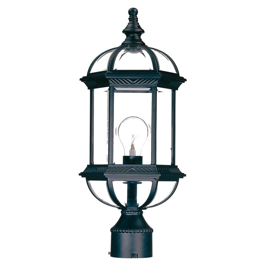 Acclaim Lighting Dover 19-in H Matte Black Post Light