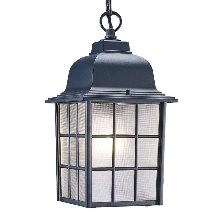 Acclaim Lighting Nautica 11-in Matte Black Outdoor Pendant Light