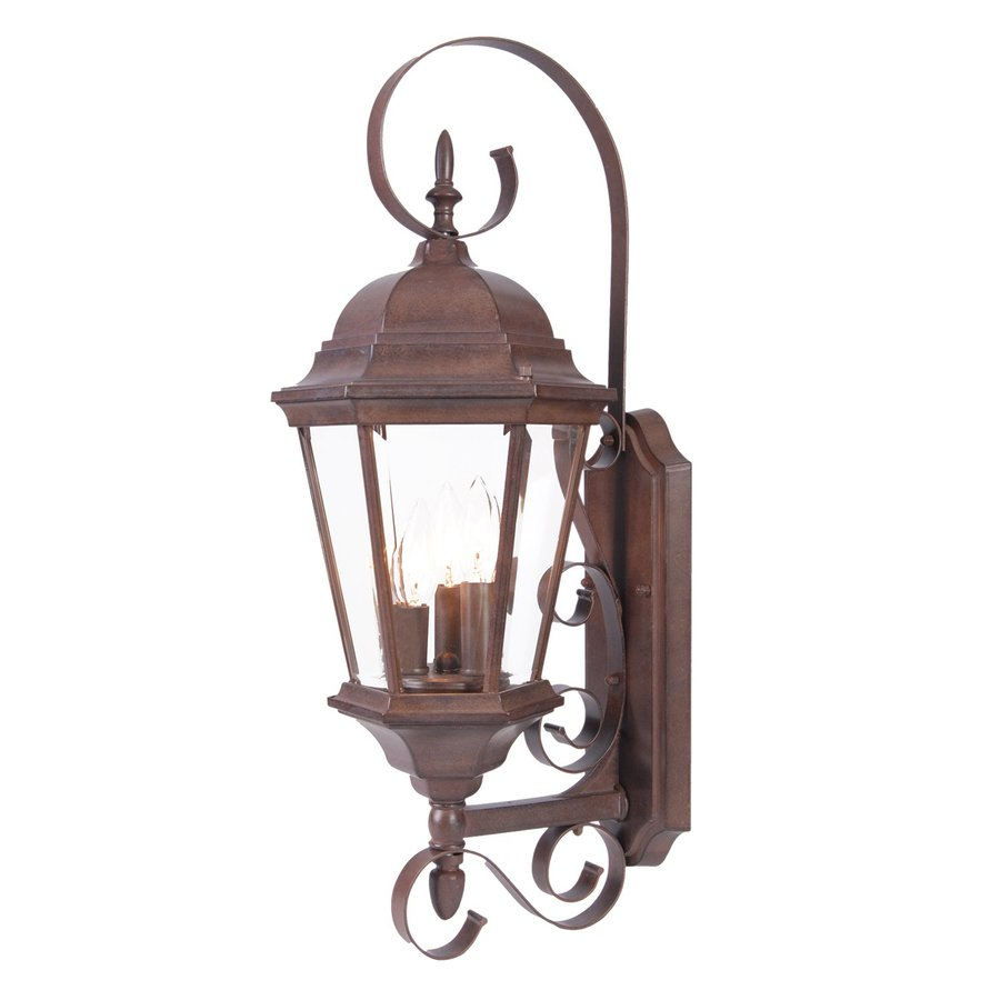 Shop Acclaim Lighting Orleans 25 In H Burled Walnut