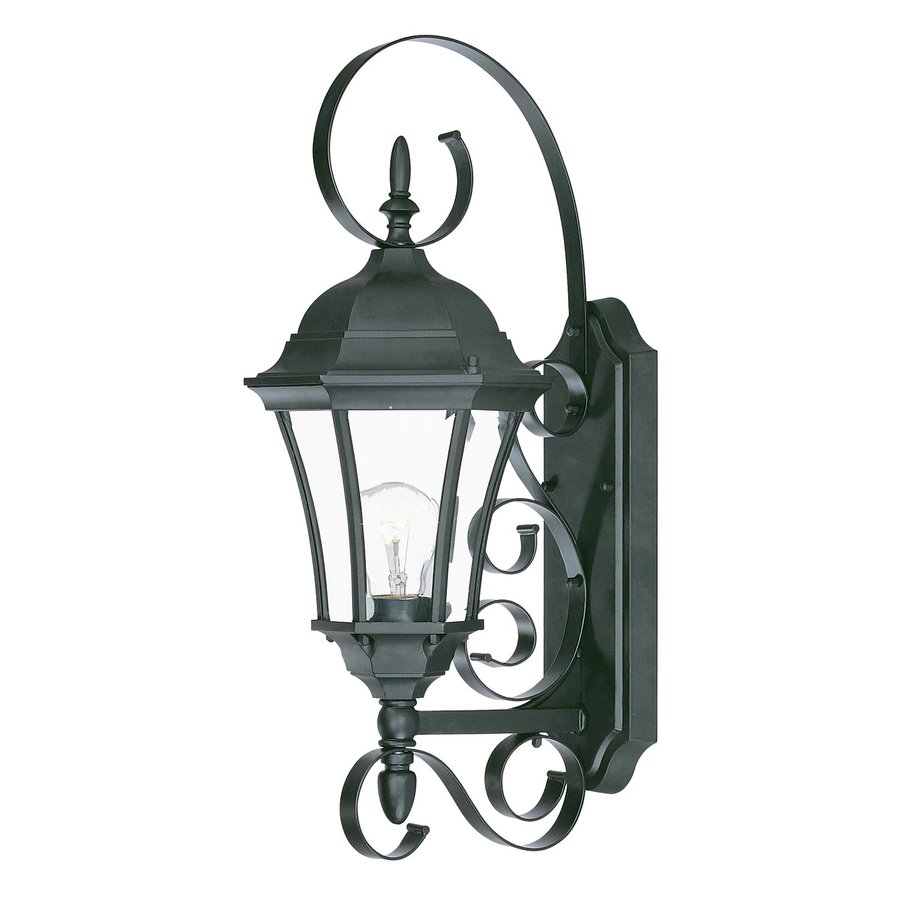 Acclaim Lighting Orleans 22-in H Matte Black Outdoor Wall Light