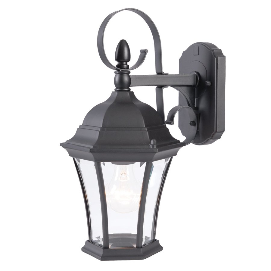 Acclaim Lighting Orleans 16-in H Matte Black Outdoor Wall Light
