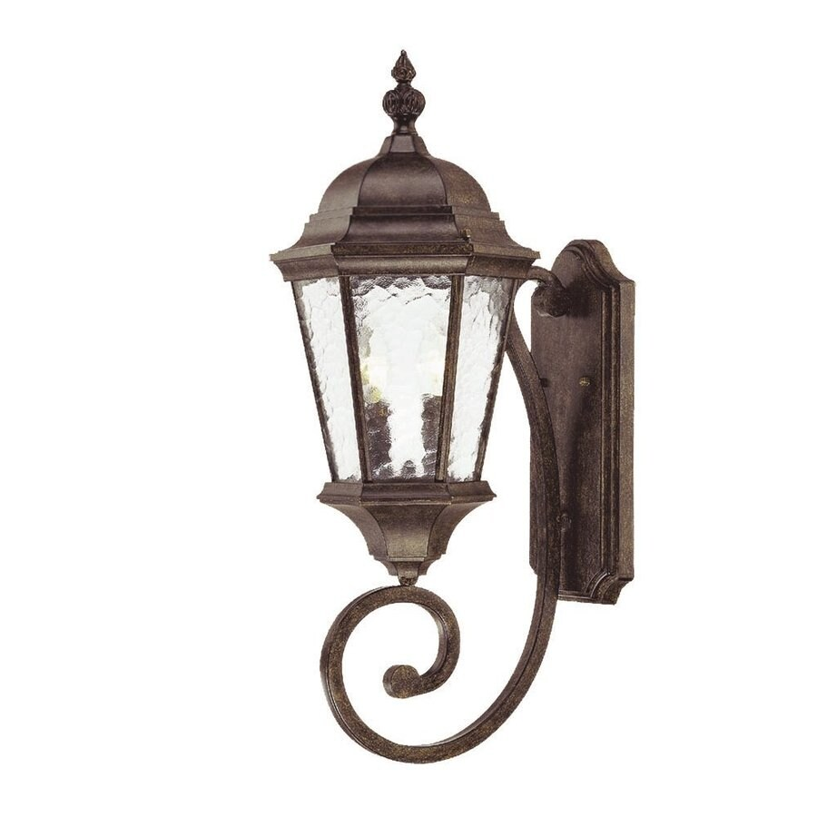 Acclaim Lighting Telfair 24.5-in H Black Coral Outdoor Wall Light