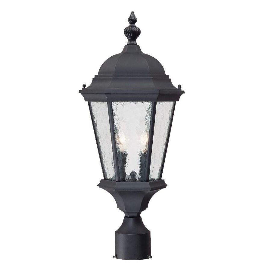 Acclaim Lighting Telfair 21.5-in H Matte Black Post Light