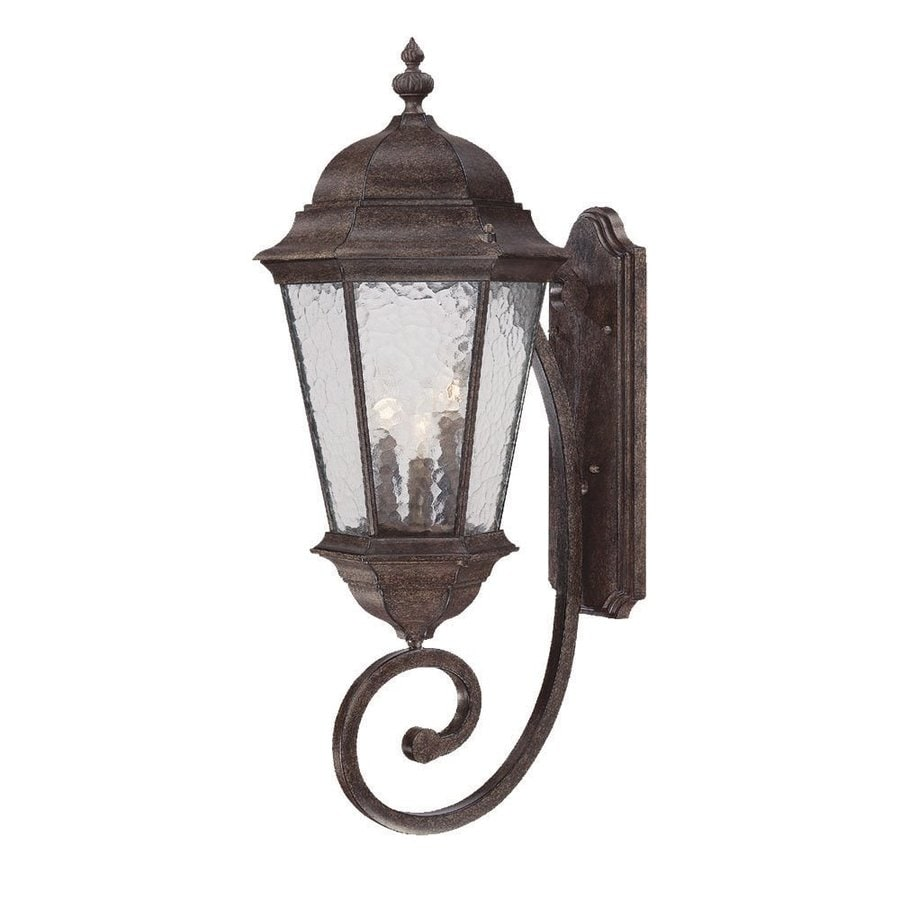 Acclaim Lighting Telfair 30.75-in H Black Coral Outdoor Wall Light