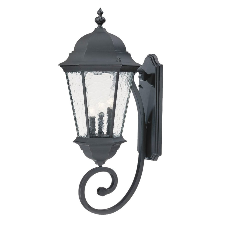 Acclaim Lighting Telfair 30.75-in H Matte Black Outdoor Wall Light