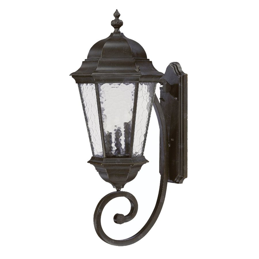 Acclaim Lighting Telfair 30.75-in H Marbleized Mahogany Outdoor Wall Light