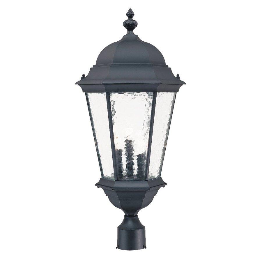 Acclaim Lighting Telfair 27-in H Matte Black Post Light