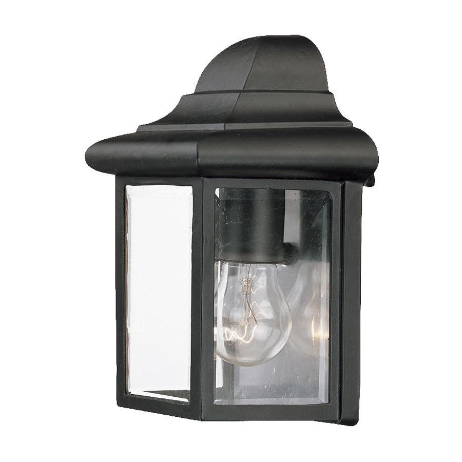 Acclaim Lighting 8.75-in H Matte Black Outdoor Wall Light