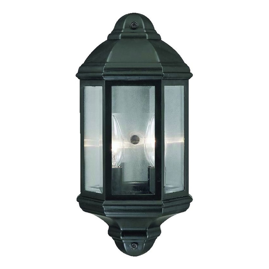 Acclaim Lighting 14.5-in H Matte Black Outdoor Wall Light