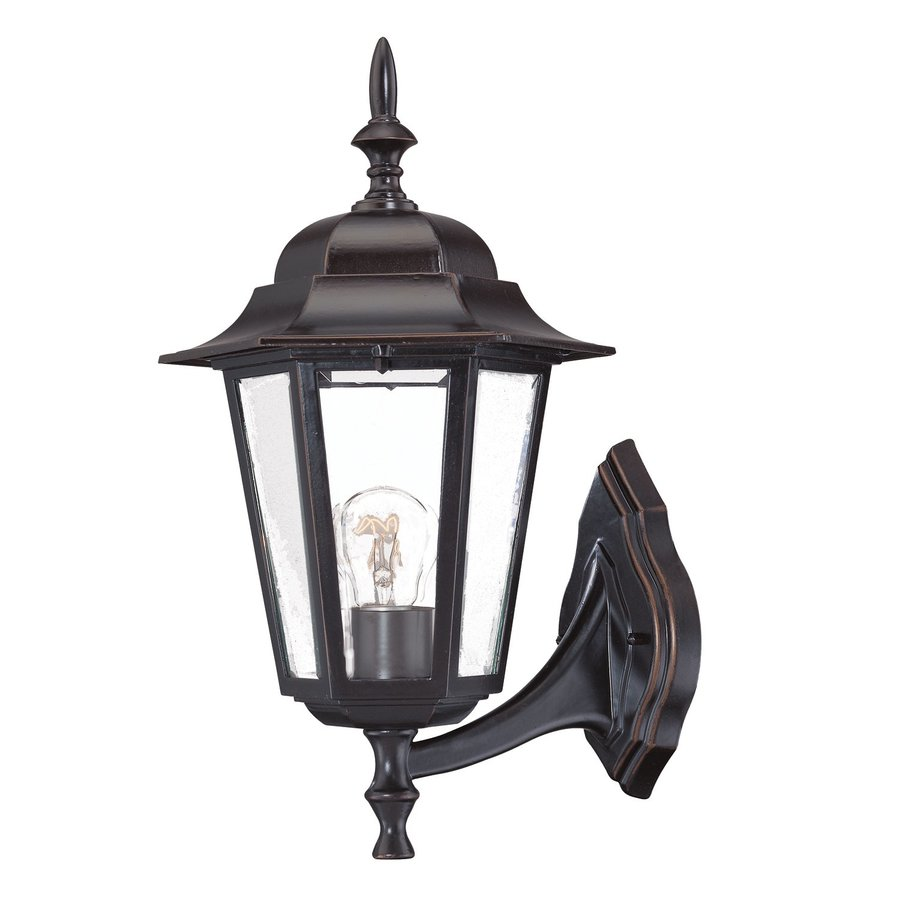 Acclaim Lighting Camelot 15-in H Architectural Bronze Medium Base (E-26) Outdoor Wall Light