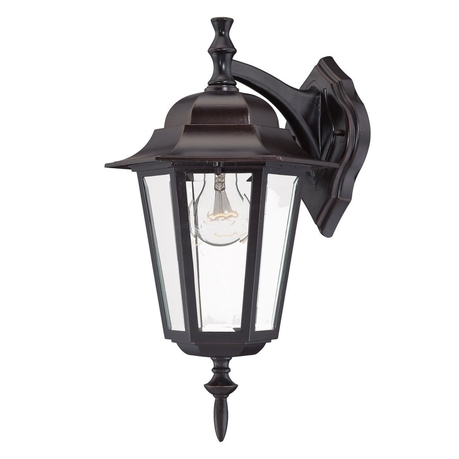 Acclaim Lighting Camelot 15.5-in H Architectural Bronze Outdoor Wall Light