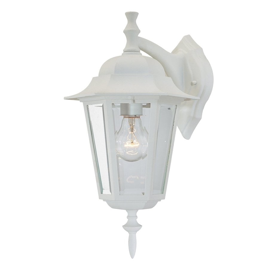 Acclaim Lighting Camelot 15.5-in H Textured White Outdoor Wall Light