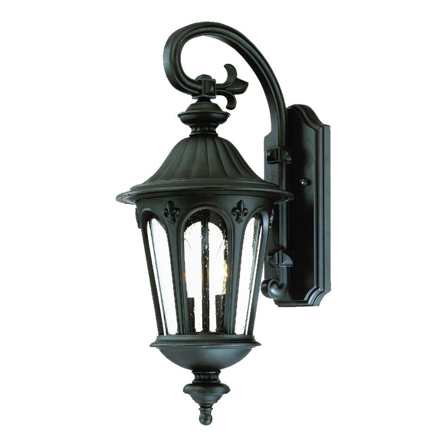 Acclaim Lighting Marietta 20.5-in H Matte Black Outdoor Wall Light