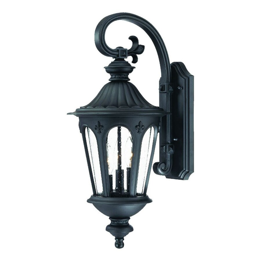 Acclaim Lighting Marietta 24.5-in H Matte Black Outdoor Wall Light