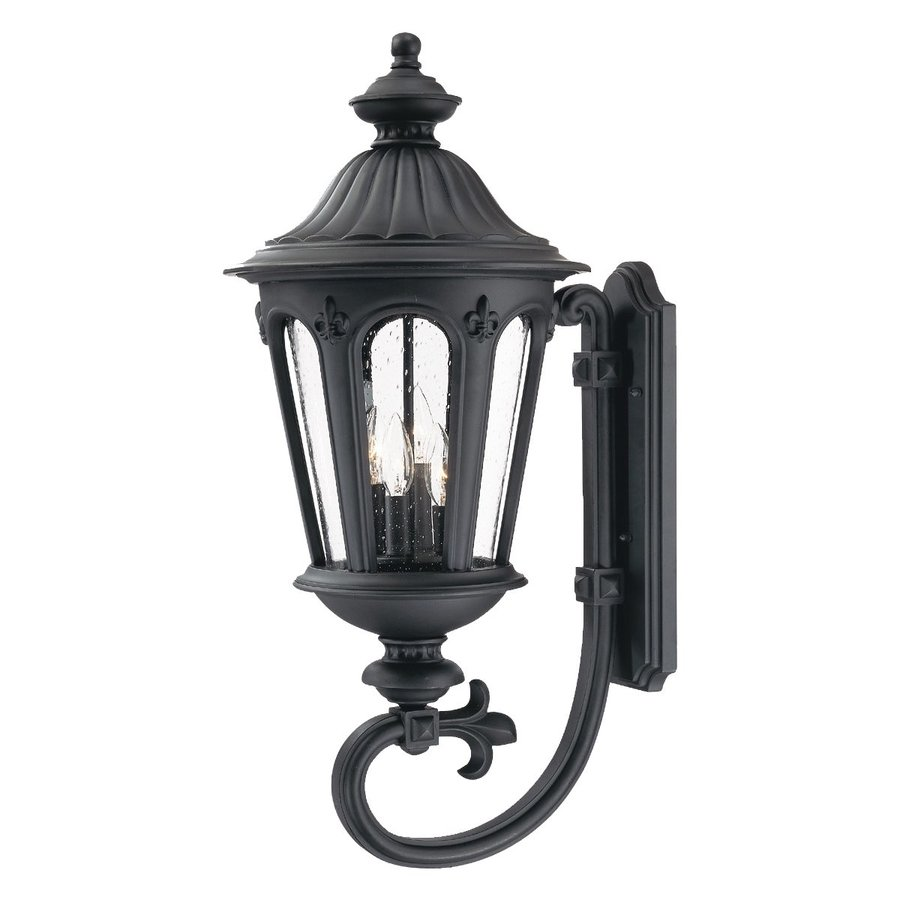Acclaim Lighting Marietta 31.25-in H Matte Black Outdoor Wall Light