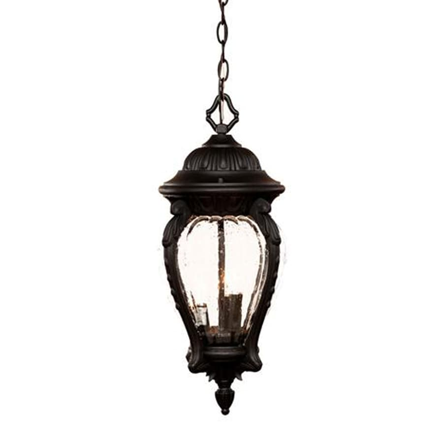 Acclaim Lighting Nottingham 22-in Matte Black Outdoor Pendant Light