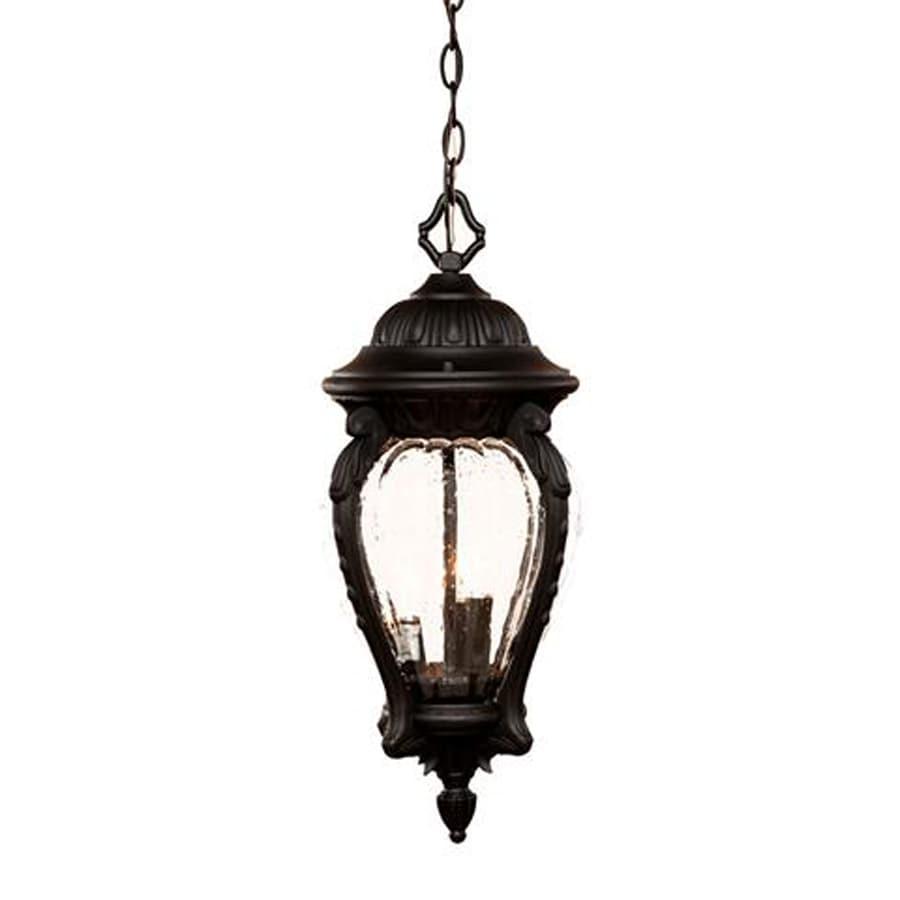 Acclaim Lighting Nottingham 22-in H Black Outdoor Pendant Light