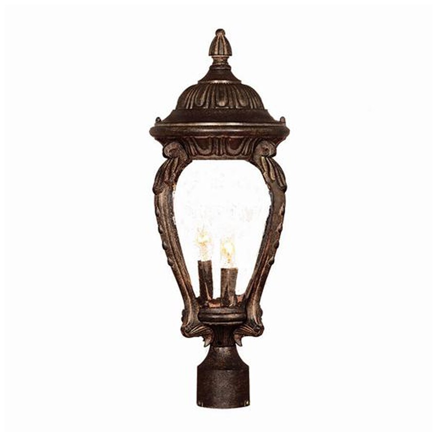Acclaim Lighting Nottingham 22.5-in H Black Coral Post Light