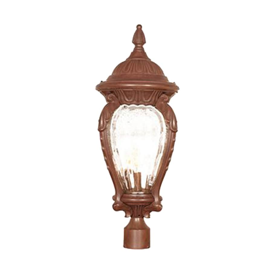 Acclaim Lighting Nottingham 29-in H Burled Walnut Post Light