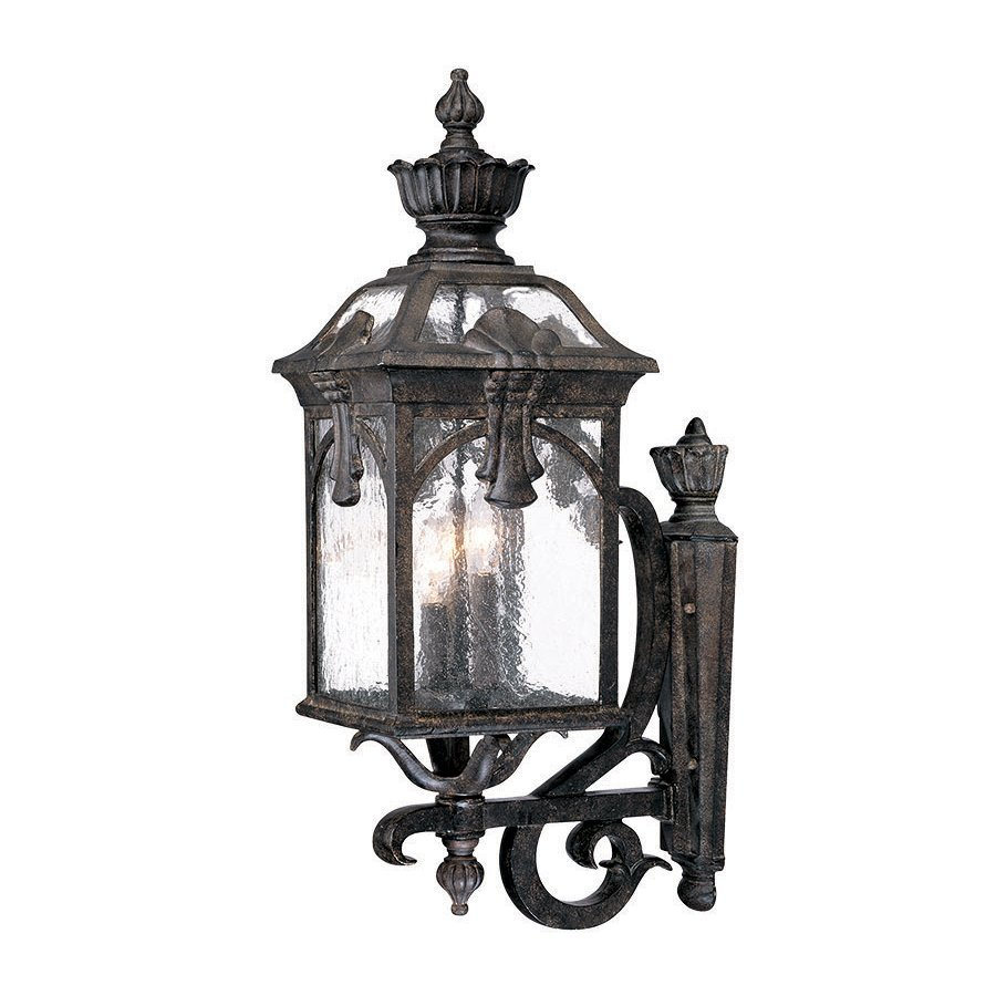 Acclaim Lighting Belmont 24.5-in H Black Coral Outdoor Wall Light