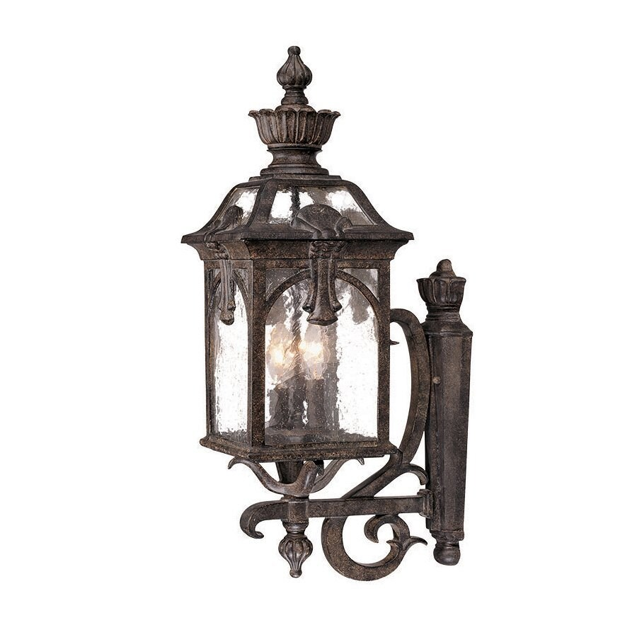 Acclaim Lighting Belmont 28.25-in H Black Coral Outdoor Wall Light