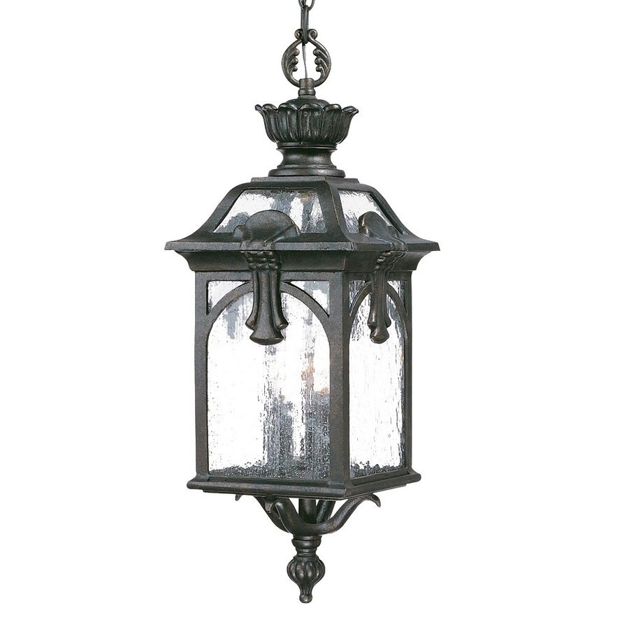 Acclaim Lighting Belmont 26-in H Multicolor Outdoor Pendant Light