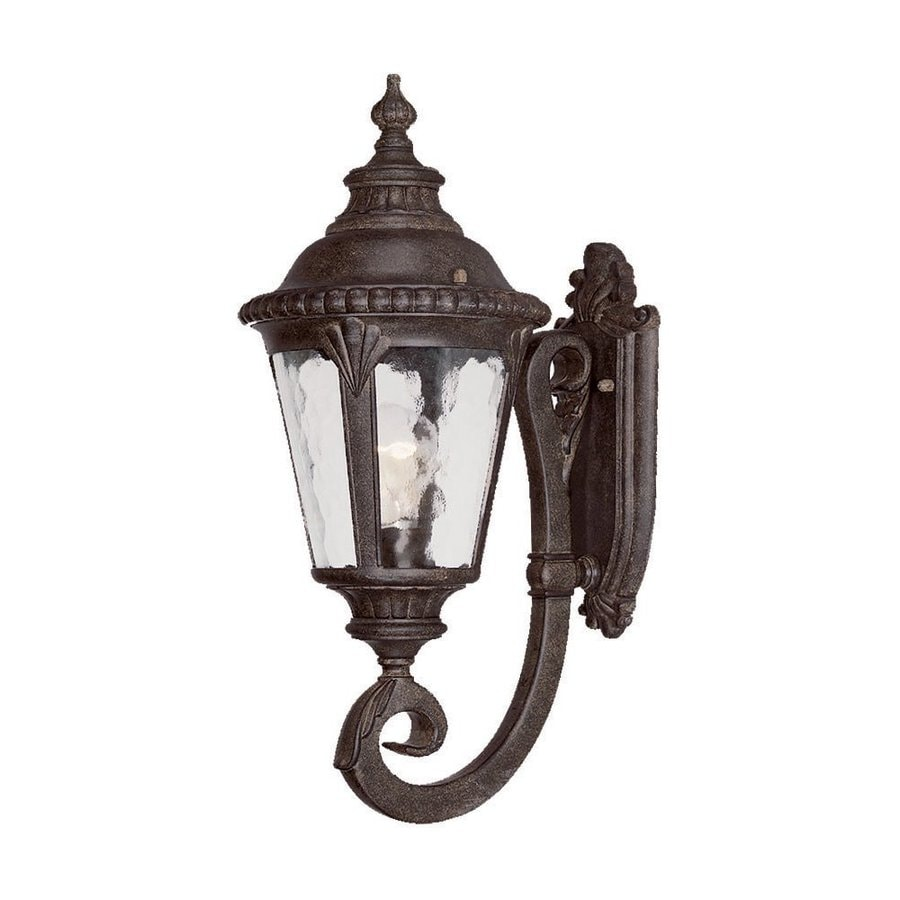 Acclaim Lighting Surrey 19-in H Black Coral Outdoor Wall Light