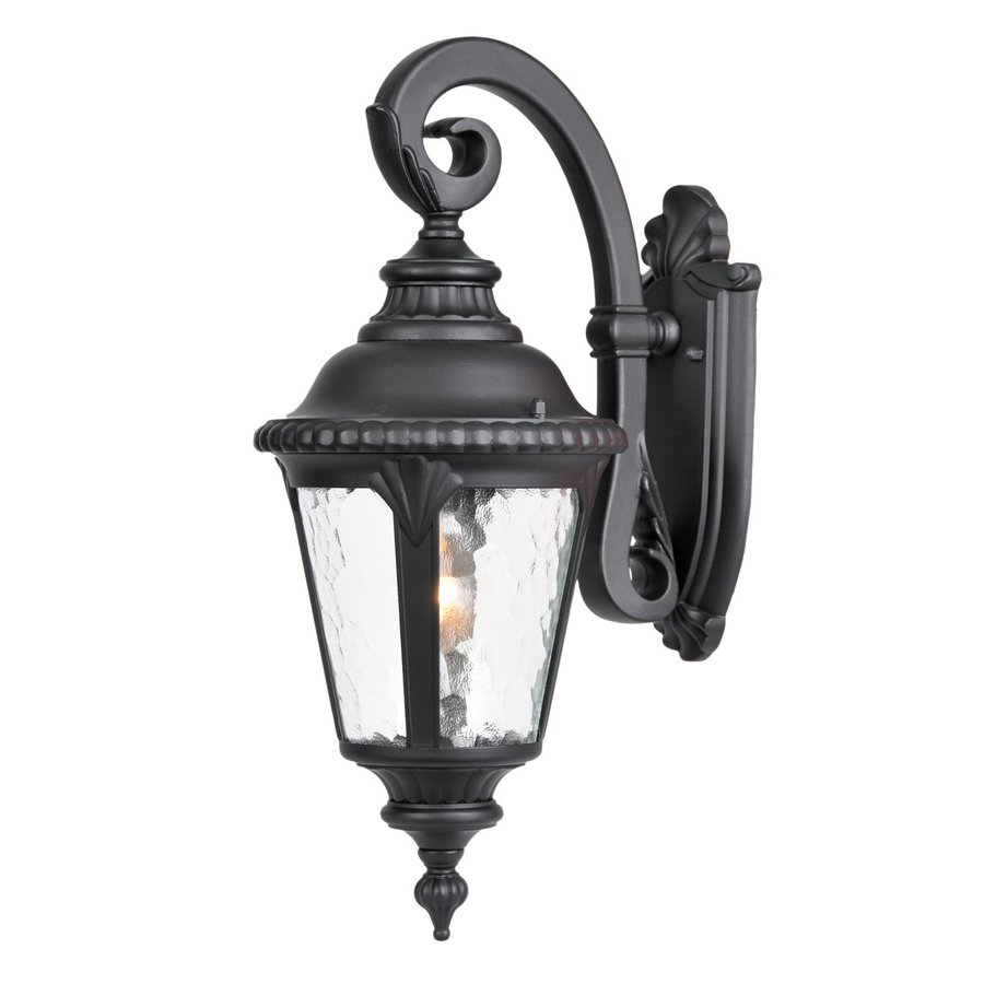 Acclaim Lighting Surrey 19.5-in H Matte Black Outdoor Wall Light