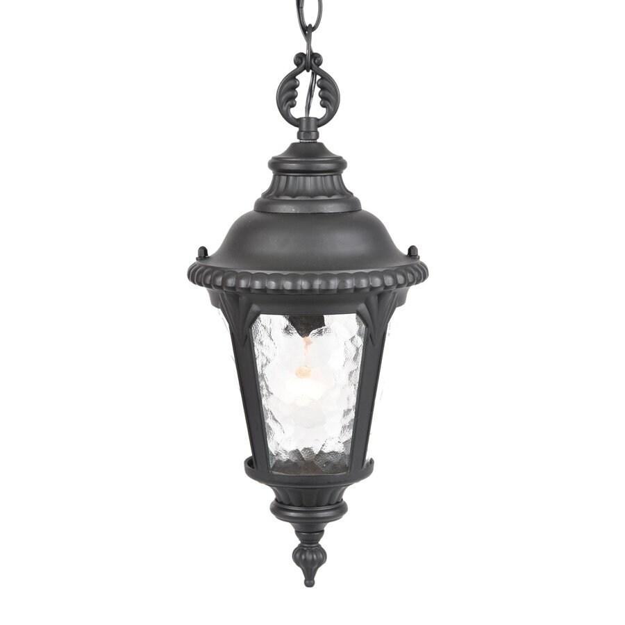Acclaim Lighting Surrey 17.25-in Matte Black Outdoor Pendant Light