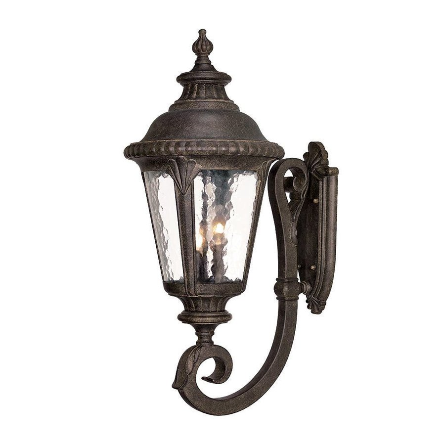 Acclaim Lighting Surrey 29-in H Black Coral Outdoor Wall Light
