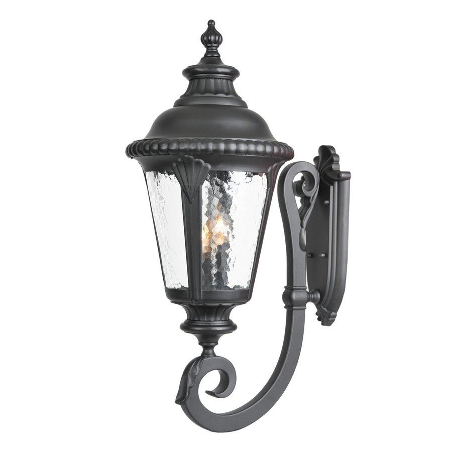 Acclaim Lighting Surrey 29-in H Matte Black Outdoor Wall Light