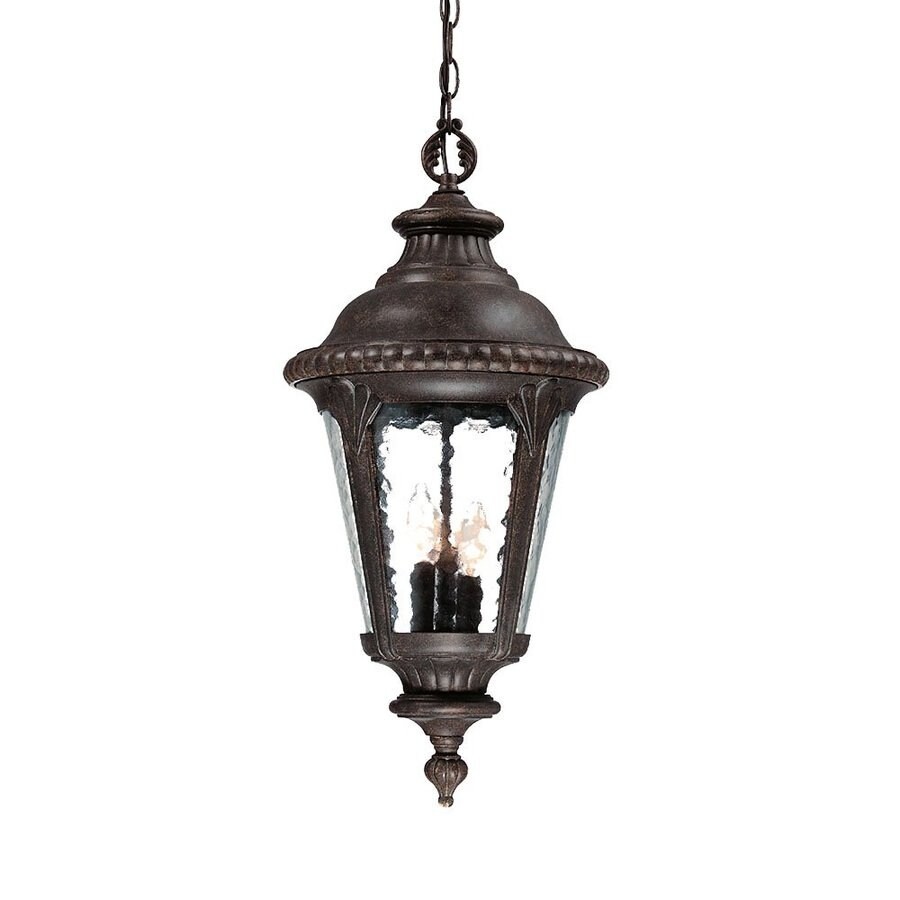 Acclaim Lighting Surrey 25.5-in Black Coral Outdoor Pendant Light