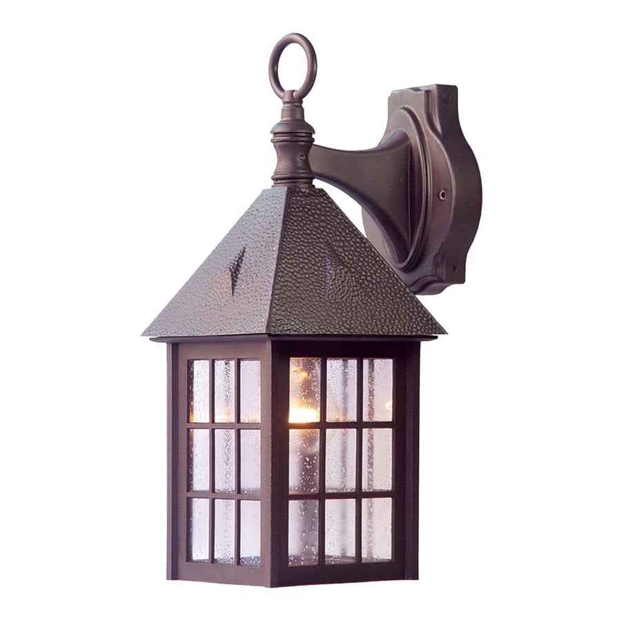 Acclaim Lighting Outer Banks 16-in H Architectural Bronze Outdoor Wall Light
