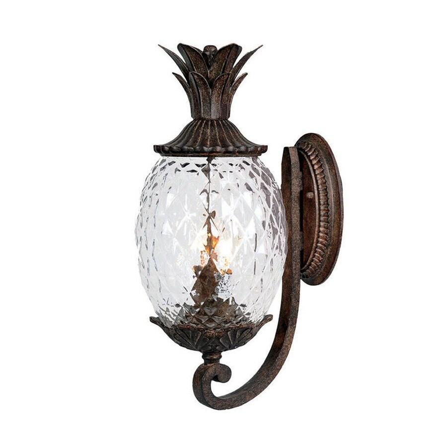 Shop acclaim lighting lanai 18 in h black coral outdoor wall light acclaim lighting lanai 18 in h black coral outdoor wall light arubaitofo Choice Image