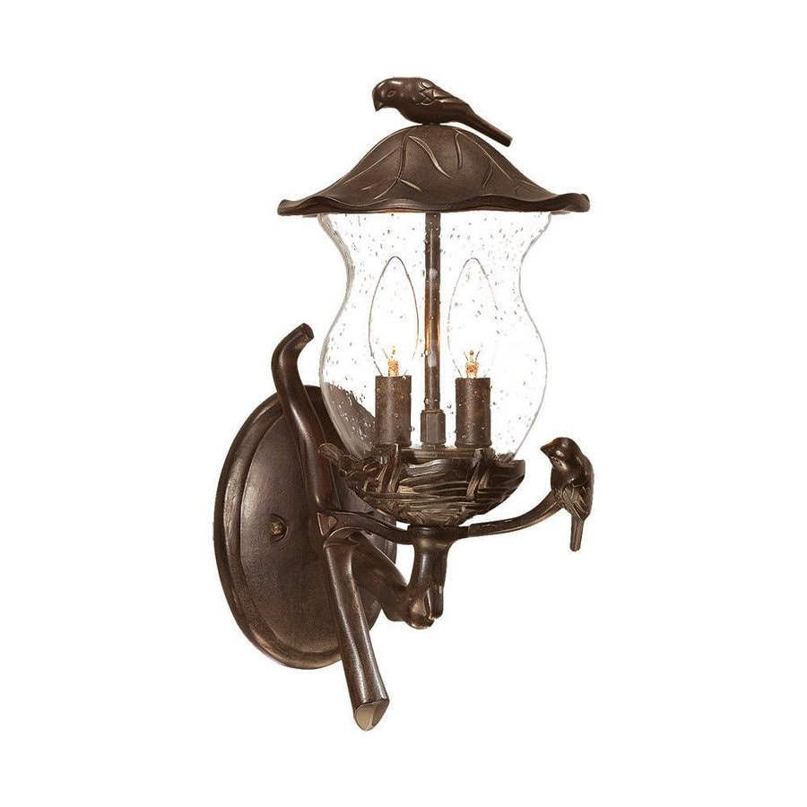Acclaim Lighting Avian 16.5-in H Black Coral Outdoor Wall Light